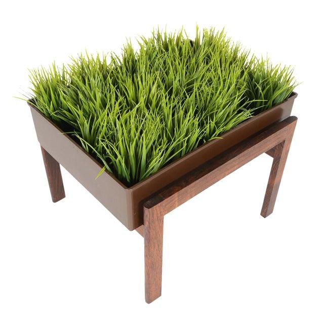 Danish Modern Rosewood Framed Planter - Image 1 of 5