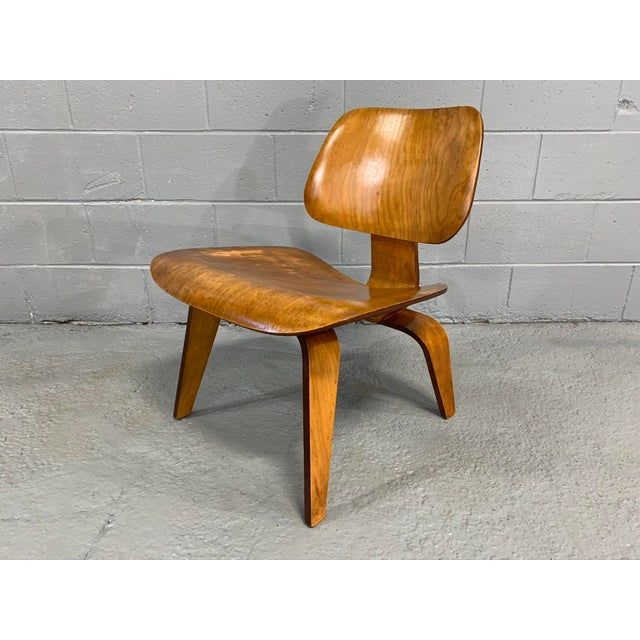 Mid-Century Charles Eames Lcw Herman Miller Lounge Chair For Sale - Image 11 of 11