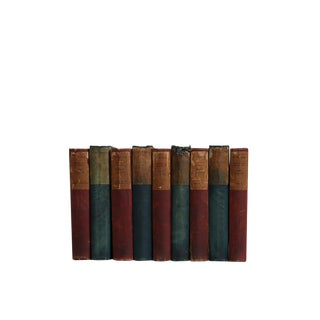 Currant & Juniper : Set of 9 Antique Decorative Books