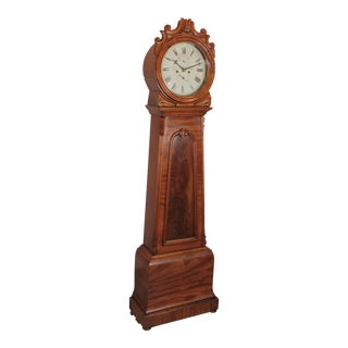 19th Century Traditional Scottish Drum Clock For Sale