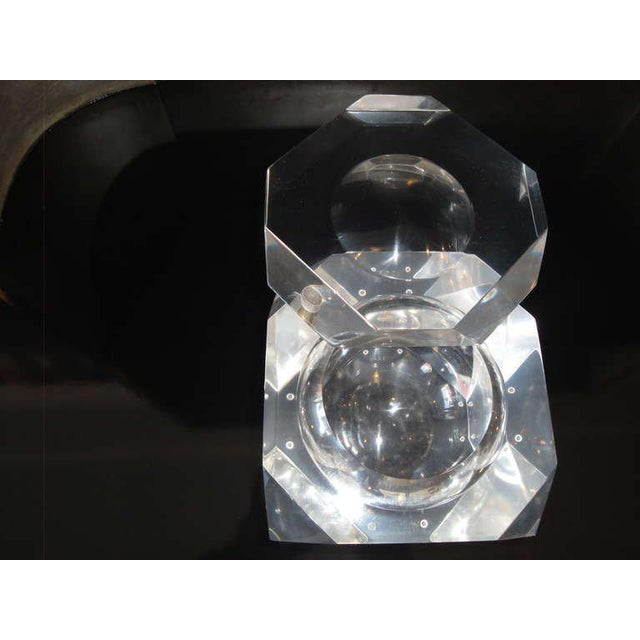 Carole Stupell Lucite Ice Bucket / Candy Dish - Image 4 of 6