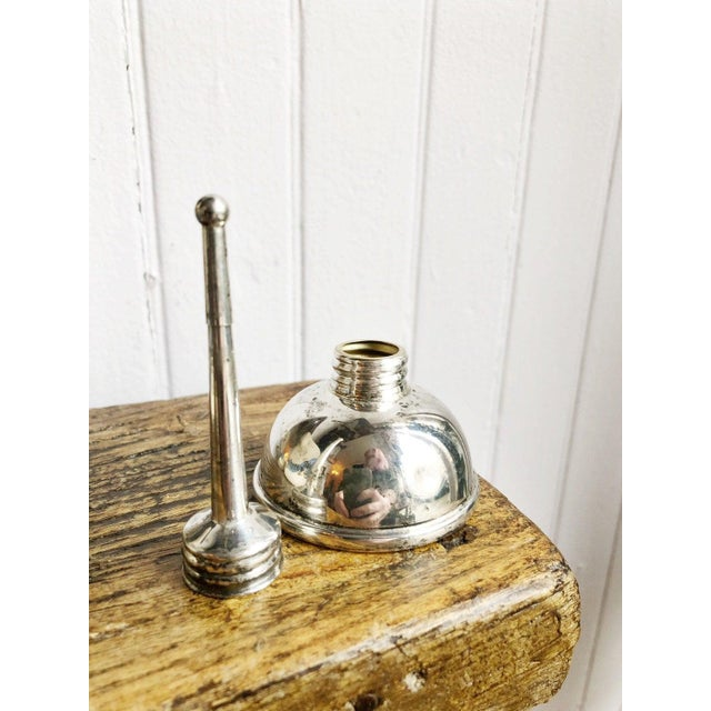 Art Deco Tiffany & Co Sterling Silver Oil Can Vermouth Dripper For Sale - Image 3 of 6