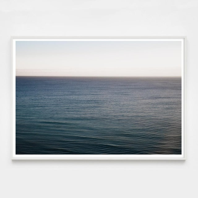 """Contemporary """"Miami a.m."""" Minimalist Ocean Wave Photograph For Sale - Image 3 of 5"""