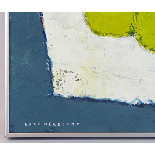 'Color Composition' Original Abstract Painting by Lars Hegelund For Sale In Miami - Image 6 of 12