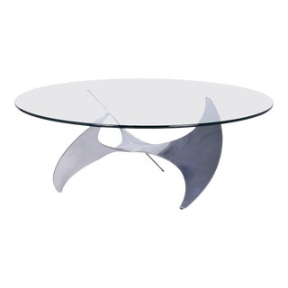 Midcentury Propeller Coffee Table For Sale