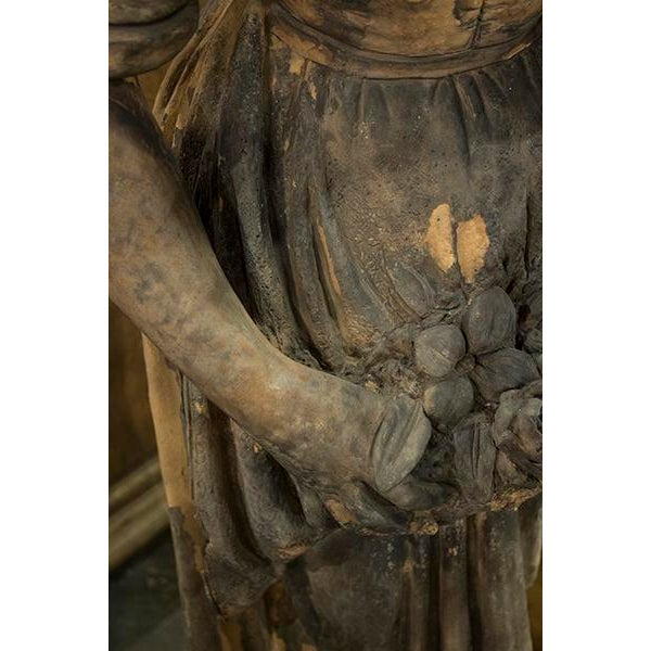 English English Terra Cotta Statue For Sale - Image 3 of 5