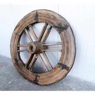 Wooden Belgian Wagon Wheel Preview
