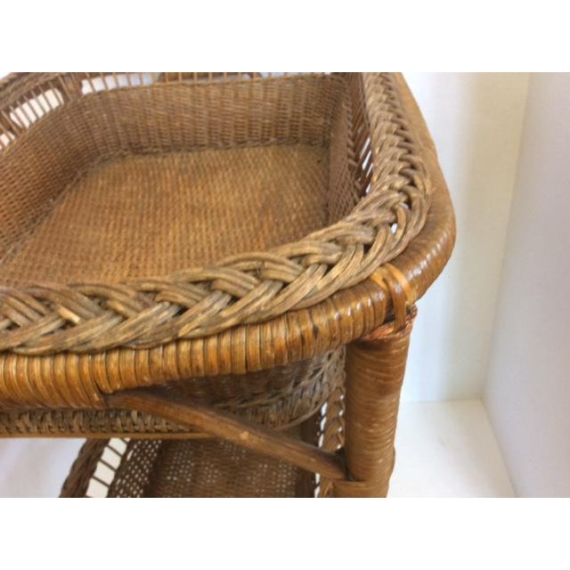Rattan Basket Stand - Image 8 of 11