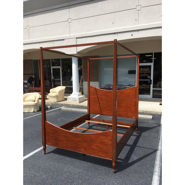 Ralph Lauren. One of the premier designers in the world for apparel as well as furniture. This stunning queen size Ralph...