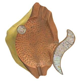Copper Fish Ashtray