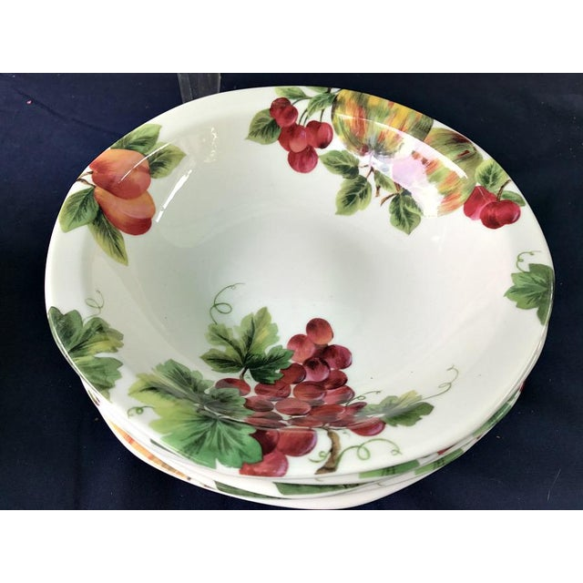 Royal Doulton Vintage Grape Pattern China Service- 25 Pieces For Sale - Image 5 of 6