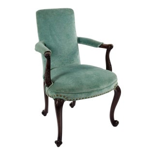 1930s French Style Parlor Side Arm Chair For Sale