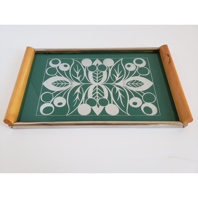 Mid Century Modern Serving Tray For Sale - Image 12 of 12