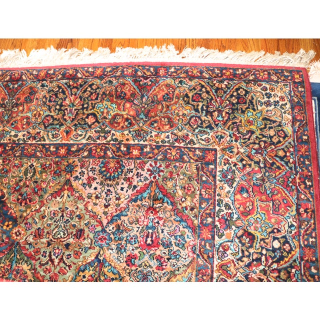 Karastan Kirman Multicolor Rug - 8′7″ × 10′8″ For Sale - Image 4 of 9