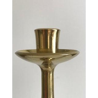 1950s Jens Quistgaard Brass Candlesticks - a Pair Preview