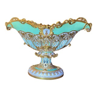Early 19th Century Edouard D. Honore Porcelain Centerpiece For Sale