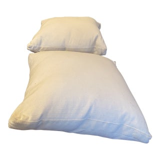 Room and Board Jumbo Pillows - a Pair For Sale