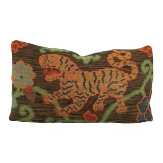 F. Schumacher Khotan Weave Pillow Cover For Sale