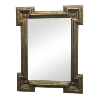Italian Gold Gilt Frame Mirror For Sale