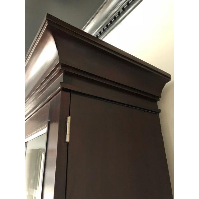Milling Road/Baker Lighted Display Cabinet For Sale In Charlotte - Image 6 of 8