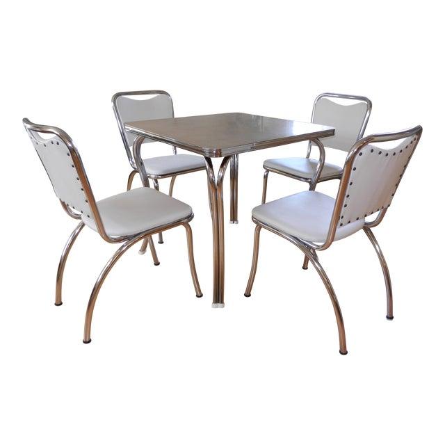 1950s Chrome Formica Dinette Set Chairish