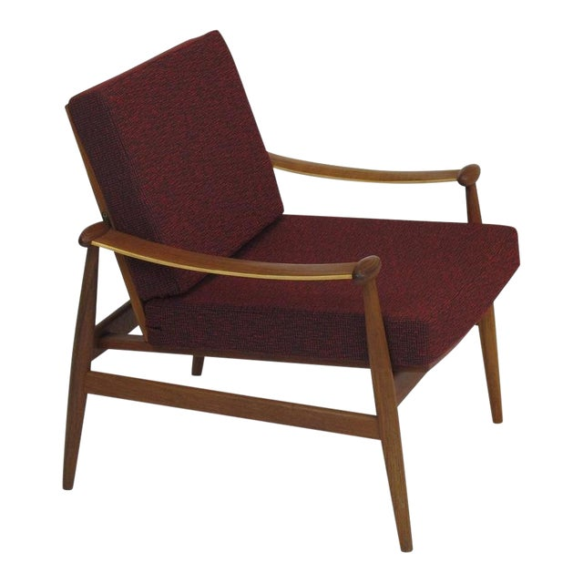 Finn Juhl Spade Mid-Century Danish Lounge Chair - Image 1 of 8