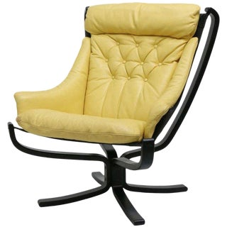 1970s Sigurd Ressell Falcon Easy Sling Chair For Sale