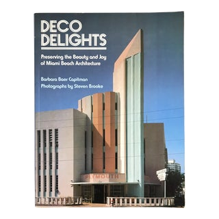 Vintage Miami Beach Art Deco Book