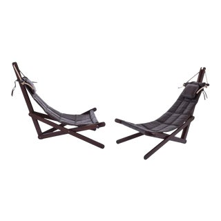"""Dominic Michaelis """"Sail Chairs"""" for Moveis Corazza - a Pair For Sale"""