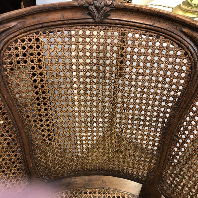 American Classical French Canned Chair For Sale - Image 3 of 9