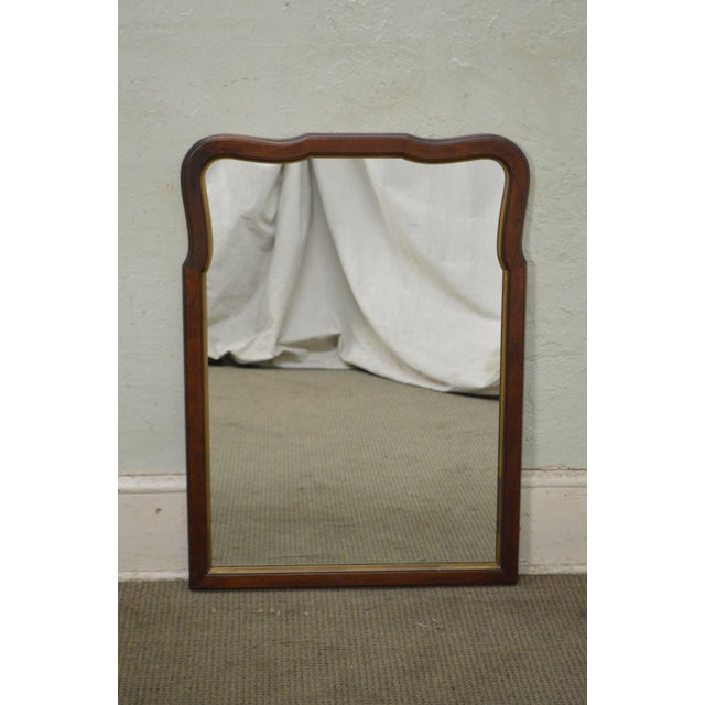 STORE ITEM #: 15606 Statton Old Towne Cherry Traditional Wall Mirror AGE/COUNTRY OF ORIGIN – Approx 30 years, America...