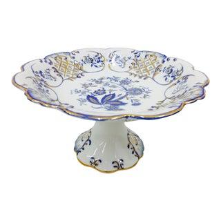 Meissen Porcelain Dessert Server For Sale
