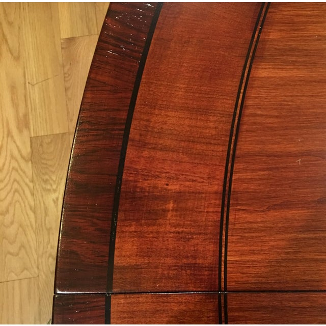 Baker Furniture Round Dining Table - Image 7 of 7