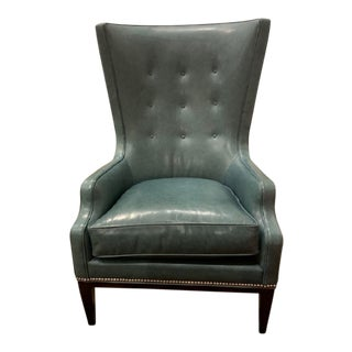 Modern Elliott Wing Chair For Sale
