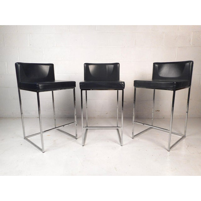 Set of 3 Italian Stools by Calligaris For Sale - Image 13 of 13