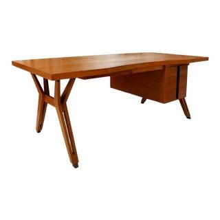 """Italian Ico Parisi """"Terni"""" Executive Desk For Sale"""