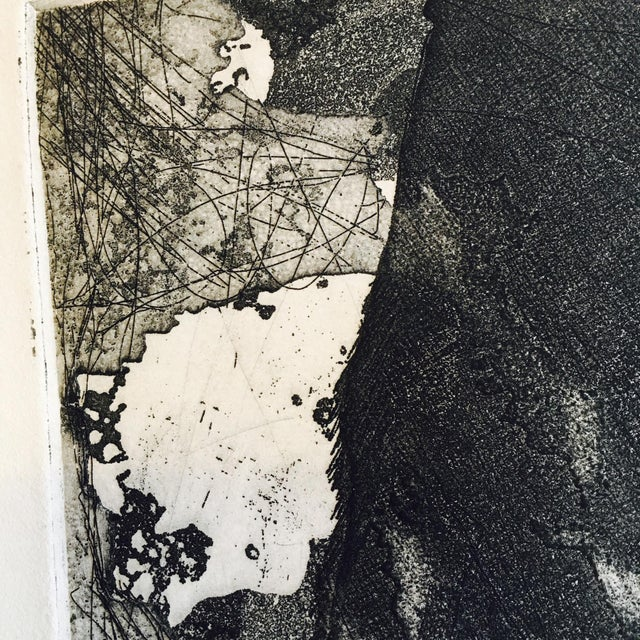 Vintage Original Abstract Lithograph - Image 4 of 7