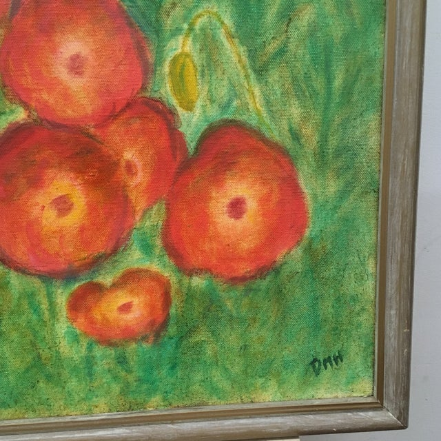 Naive art, painting On stretched canvas and framed