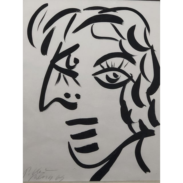 """COA included Peter keil """"White face"""" 1965"""