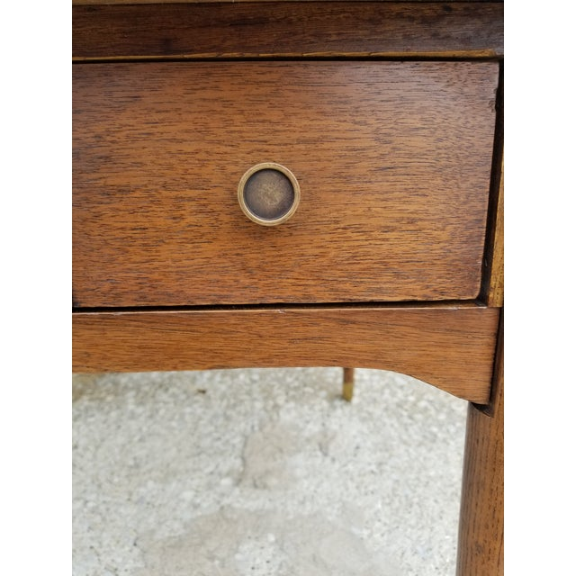 1960s Mid-Century Modern Wooden Side Table For Sale In Chicago - Image 6 of 8