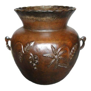 19th Century Ceramic Pot For Sale
