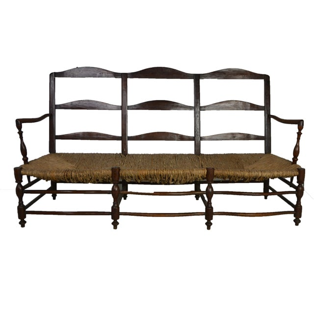 Mid 19th Century 19th Century French Settee For Sale - Image 5 of 5