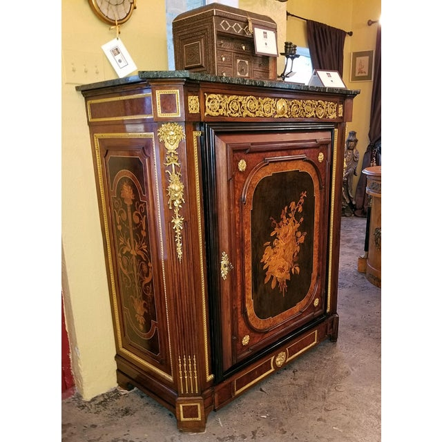19th Century Louis XVI Style Cabinet - High Quality For Sale - Image 4 of 13