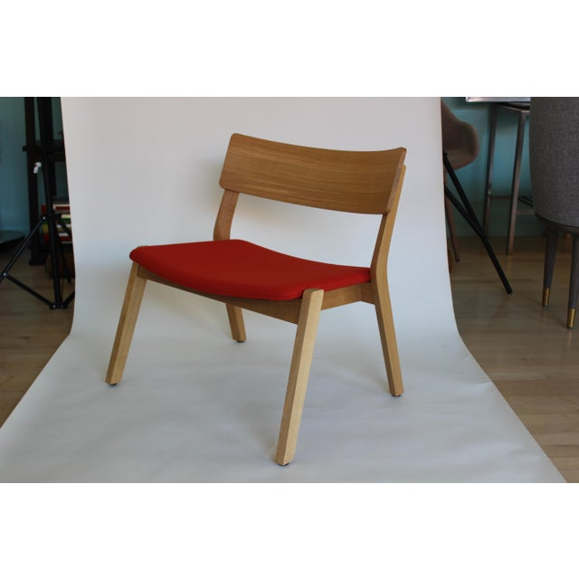 Wood Modern Verywood Frame Lounge Chair For Sale - Image 7 of 7
