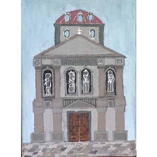 'Medici' Outsider Art Painting For Sale