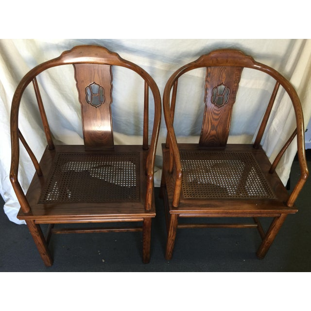Henredon Chinese Style Chairs - A Pair - Image 3 of 7