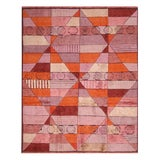 "Image of Rug & Kilim's Scandinavian-Inspired Orange Rug-8'1'x12'2"" For Sale"