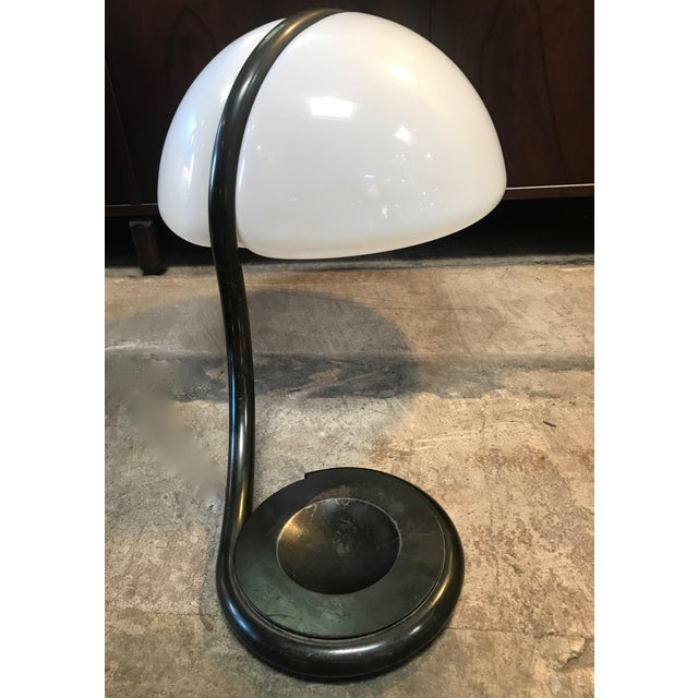 Glass Elio Martinelli Table Lamp Mod. 599 Serpente Designed, 1965, Italy For Sale - Image 7 of 13