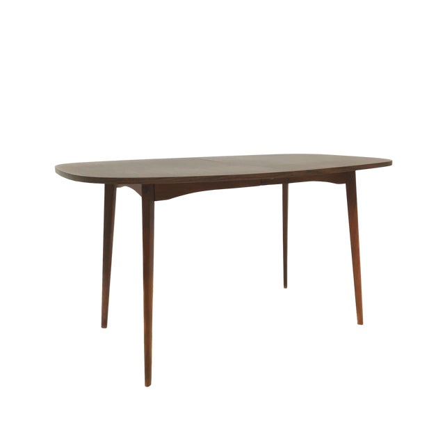 Mid Century Modern Mel Smilow Dining Table With Two Leaves For Sale