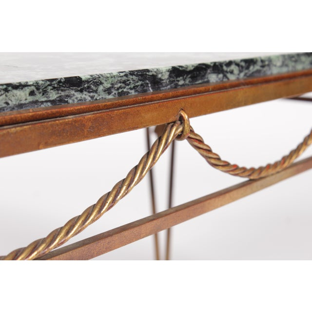 Vintage Italian Style Gold Coffee Table - Image 5 of 7